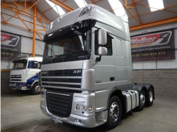 DAF XF105 460 SUPERSPACE EURO 5, 6 X 2 TRACTOR UNIT - 2013 - WK63 VF - cabeza tractora