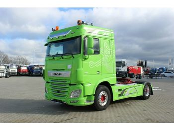 DAF XF 530 FT, EURO 6, HYDRAULIC, LEATHER SEATS  - cabeza tractora