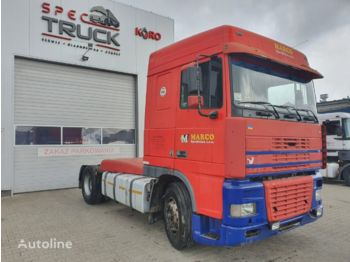 Cabeza tractora DAF XF 95 380, Manual Pumpe, Euro 2, Steel/Air