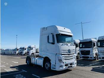 Mercedes-Benz 1845 Giga Space Actros, double sleeper  - cabeza tractora