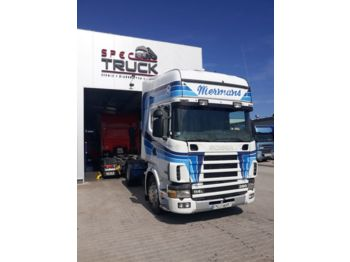 Cabeza tractora SCANIA R114.380, Steel /Air, Manual