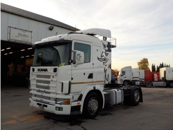 Scania 124-360 (MANUAL PUMP and GEARBOX) - cabeza tractora