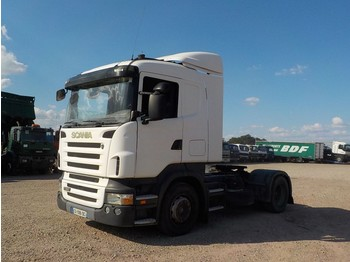 Cabeza tractora Scania R 380 (MANUAL GEARBOX / AIRCO / FRENCH TRUCK IN GOOD CONDITION)