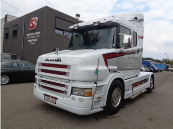 Scania T 380 Torpedo Facelift T 380 showtruck Full options +rockinger - cabeza tractora