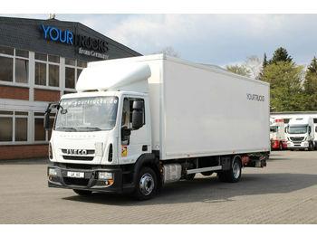Camión caja cerrada Iveco Eurocargo ML120E19 EURO 6 Koffer 7,5m/Klima /LBW