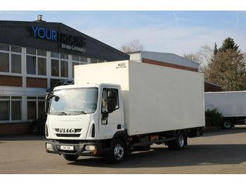 Camión caja cerrada Iveco Eurocargo ML75E16 EEV Koffer 6,3m/Klima/LBW