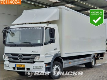 Camión caja cerrada Mercedes-Benz Atego 1218 L 4X2 Manual Ladebordwand Euro 5