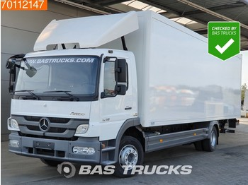 Mercedes-Benz Atego 1218 L 4X2 Perfect-condition Ladebordwand Euro 5 - camión caja cerrada