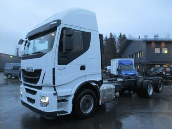 IVECO Stralis AS260S48 6x2*4 - camión chasis