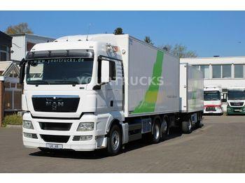Camión frigorífico MAN TGX 26.440 XLX /Fleischer/Strom/Türen/FRC/ZUG!!