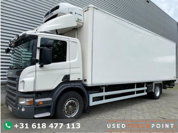 Scania P360 / Chereau / Thermoking T-1000R / 380 hours / Euro 5 / Tail Lift / Belgium truck - camión frigorífico