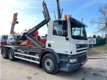 Camión multibasculante DAF CF 85.460 - 6x4 - MANUAL ZF - RETARDER - NAAFREDUCTIE / PONTS REDUCTEURS / AP ACHSEN - MARREL AL TH 26 HAAK - TÜV 19-07-2021 -