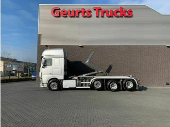 DAF XF 106.460 8X2 TRIPLE SUPER SPACE CAB + VDL HAAK  - camión multibasculante