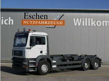 Camión multibasculante MAN TGA 26.410 6x4, Atlas ARK 204 K