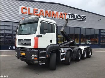 Camión multibasculante MAN TGA 35.480 10x4 Hiab 30 ton's haakarmsysteem