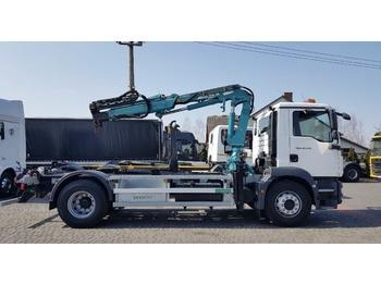 Camión multibasculante MAN TGM 18.340