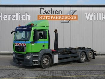 Camión multibasculante MAN TGS 26.400 6x2-2 BL, Meiller RK 20.67, Bl/Lu