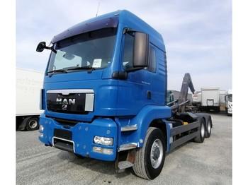 Camión multibasculante MAN TGS 26.440 6x6H BL Abrollkipper Euro 5 (34)