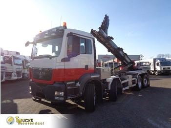 Camión multibasculante MAN TGS 440 + Manual + Euro 5 + PTO + Hook system + 8x4 HydroDrive