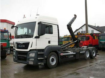 Camión multibasculante MAN TG-S 26.440 BL 6x2 Abrollkipper Lift+Lenkachse