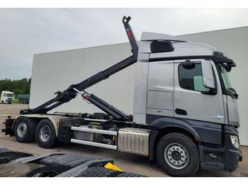 Camión multibasculante MERCEDES-BENZ Actross 2551 6x2