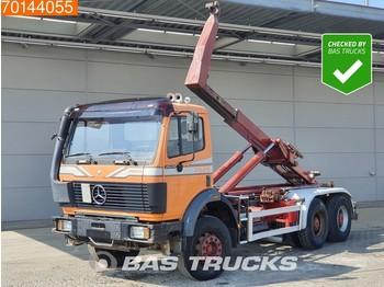 Camión multibasculante Mercedes-Benz 2629 6X4 V8 Manual Big-Axle Steelsuspension