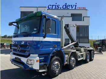 Camión multibasculante Mercedes-Benz 3244 8x4 Mobas VDL Hakengerät   Retarder Euro 5