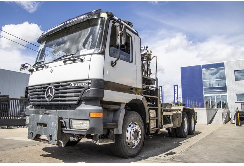 camión multibasculante Mercedes-Benz ACTROS 2635 K - ATLAS 170.2