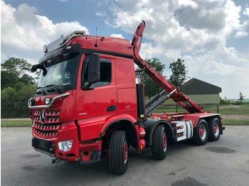 Mercedes-Benz AROCS 3751 8X4  RETARDER HUBREDUCTION EURO 6 HOO  - camión multibasculante