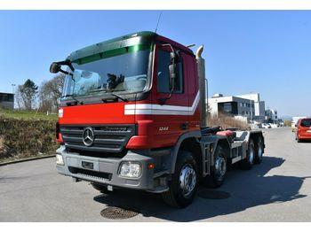 Camión multibasculante Mercedes-Benz Actros 3244 8x4 Hakengerät