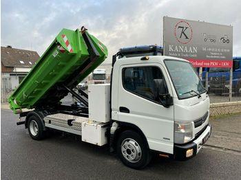 Camión multibasculante Mitsubishi Fuso Canter Abrollkipper 4t Nutz 88Tkm
