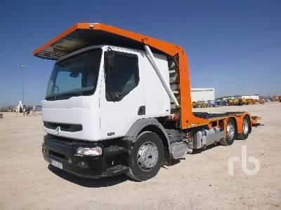 camión multibasculante RENAULT 420.18 4x2