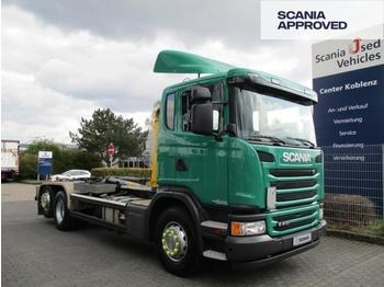 Camión multibasculante SCANIA G410 LB 6X2*4 HSA - PALFINGER ABROLLKIPPER - SCR