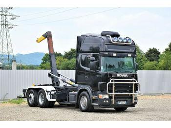 Camión multibasculante Scania 164 L - 480 Abrollkipper 5,30m* Top Zustand!