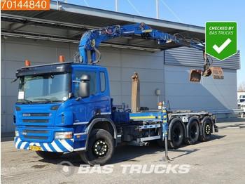 Camión multibasculante Scania P360 8X4 Lift+Lenkachse Euro 5 Jonsered J1620 ZT93A