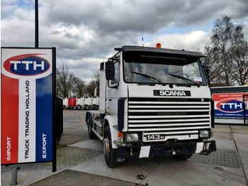 Scania R143-400 V8 6X2 Hooklift | Manual  - camión multibasculante