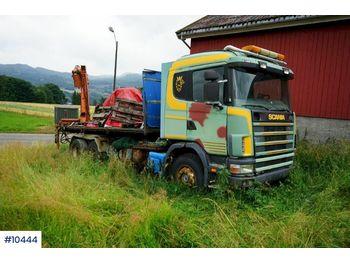 Camión multibasculante Scania R144