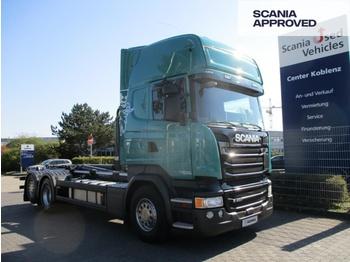 Camión multibasculante Scania R490 LB6x2*4 MNA - MEILLER ABROLLKIPPER