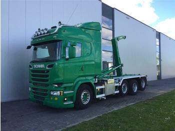 Camión multibasculante Scania R520 8X2  RETARDER STEERING AXLE EURO 6 HOOK JOA