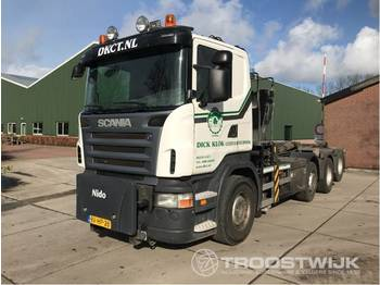 Camión multibasculante Scania R 480 b 8x2/4