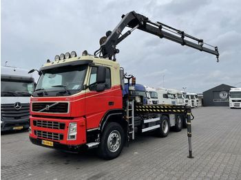 Camión multibasculante Volvo FM 440 8X2 Hiab 211 EP-3 Hidou + NCH Containesystem 30 T