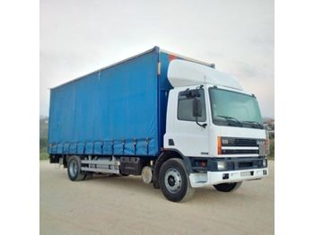 DAF 65 210 ATI left hand drive 19 ton manual pump - camión toldo