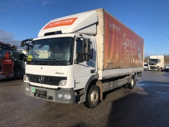 Mercedes-Benz Atego 1224 Plane mit Ladebordwand, Manual, Euro 5 - camión toldo
