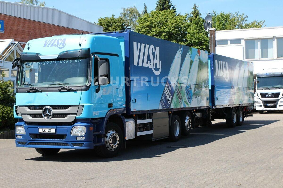 camión transporte de bebidas Mercedes-Benz Actros 2541 Retarder/Schwenkwand/Lenkachse/ZUG!