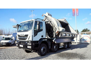 Iveco STRALIS X-WAY 480, 8x4, NEW TRUCK, THREESIDE  - camión volquete