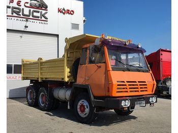 STEYR K-29, Full Steel 6x4, Big axles,6 CYLINDERS Manual - camión volquete