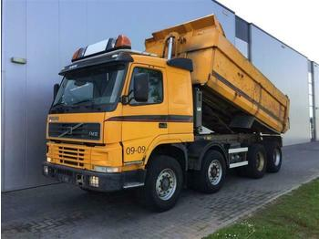 Volvo FM12.420 8X4 FULL STEEL MANUAL HUB REDUCTION EUR  - camión volquete
