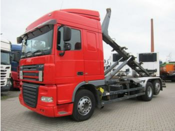 DAF XF 105 460 Space 6x2 Haken Manual Retarder 540tk  - multibasculante camión