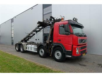 Volvo FM12.420 8X4 MANUAL HUB-REDUCTRION FULL STEEL LO  - multibasculante camión