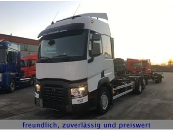 Renault *T 460*EURO 6*LIFT ACHSE*1.HAND*  - portacontenedore/ intercambiable camión